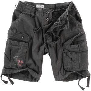 Surplus Airborne Vintage Shorts - Washed Black