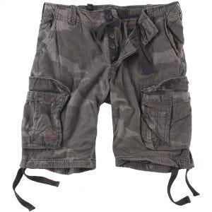 Surplus Airborne Vintage Shorts - Washed Black Camo