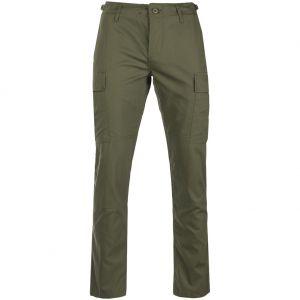 Teesar US BDU Bukser Ripstop SlimFit - Olivenfarvet