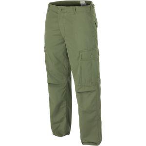 Teesar M64 US Vietnam Jungle Bukser - Olivenfarvet