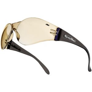 Bolle Bandido Glasses Clear Base Blue Mirror Brown Frame    DISC
