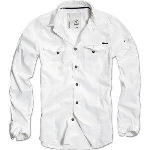 Brandit SlimFit Skjorte - Hvid
