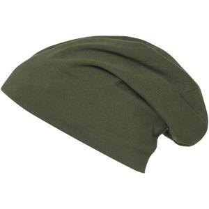 Brandit Unicolour Jersey-kasket - Olivenfarvet