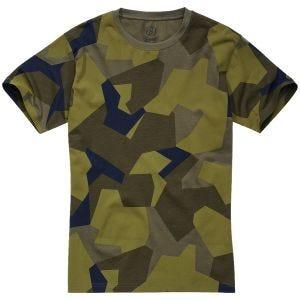 Brandit T-shirt - Swedish Camo M90