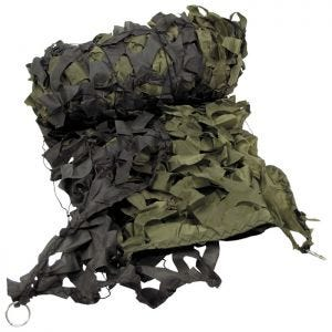 MFH Camouflage-net 2x3 m - Olivenfarvet