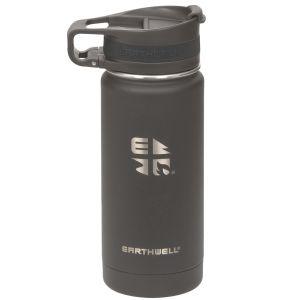 Earthwell Roaster Loop Vakuumflaske 473 ml - Volcanic Black