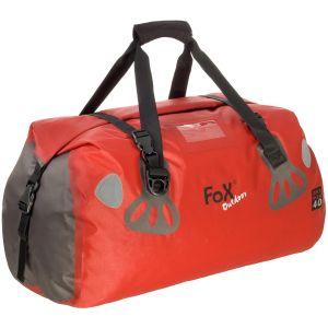 Fox Outdoor DRY PAK 40 Duffle Bag Vandtæt - Rød