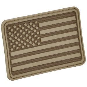 Hazard 4 USA Flag Left Arm Moralemærke - Coyote