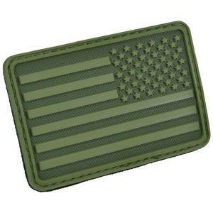 Hazard 4 USA Flag Right Arm Moralemærke - Olive Green
