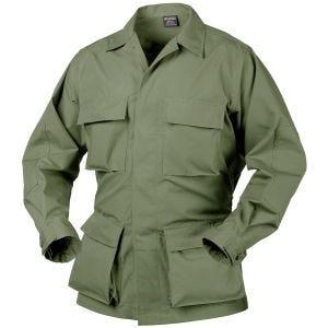 Helikon BDU Skjorte Ægte Polybomuld med Ripstop - Olivenfarvet