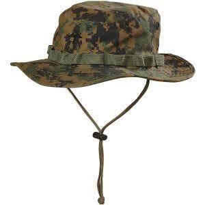 Helikon USMC Boonie-hat - Digital Woodland