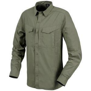 Helikon Defender Mk2 Tropical Langærmet Skjorte - Dark Olive
