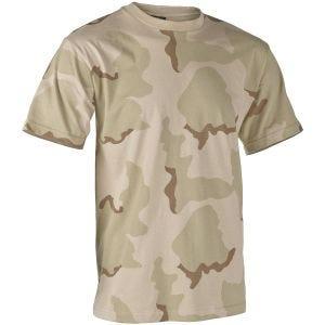 Helikon T-shirt - 3-Farvet Ørken