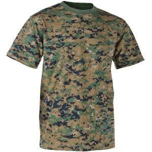 Helikon USMC T-shirt - Digital Woodland