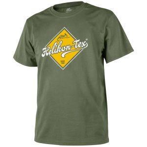 Helikon Road Sign T-shirt - Olive Green