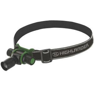 Highlander Focus 3W LED Pandelygte - Sort/Olivenfarvet