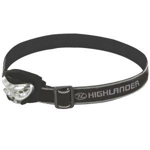 Highlander Vision 2+1 LED Pandelygte - Sort
