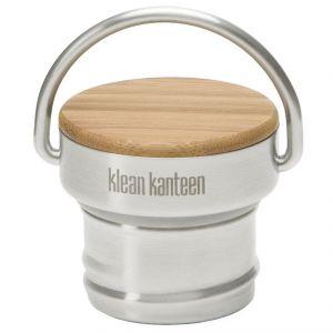 Klean Kanteen Stainless Unibody Bamboo Cap Brushed Stainless