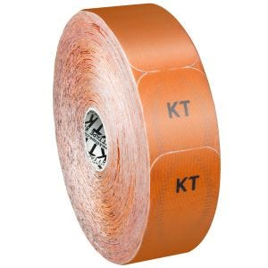 KT Tape Jumbo Pro Precut Kinesiologitape Syntetisk - Blaze Orange