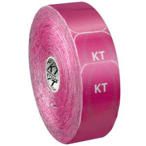 KT Tape Jumbo Pro Precut Kinesiologitape Syntetisk - Hero Pink
