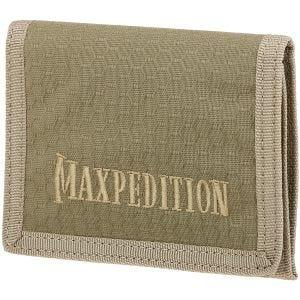 Maxpedition Tredobbelt Foldet Pung - Tan