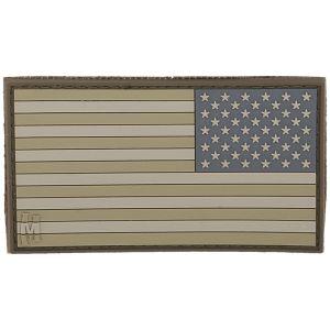 Maxpedition Reverse USA Flag Stor Morallap - Arid
