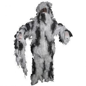 MFH Camouflage Ghillie-dragt - Snow