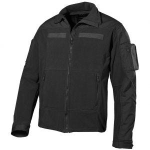 MFH US Combat Fleece-jakke - Sort