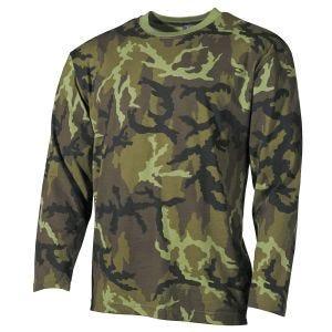 MFH Langærmet T-shirt - Czech Woodland