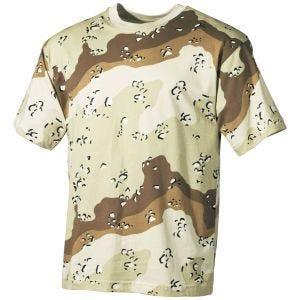 MFH T-shirt - 6-Farvet Ørken