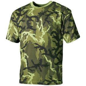 MFH T-shirt - Czech Woodland
