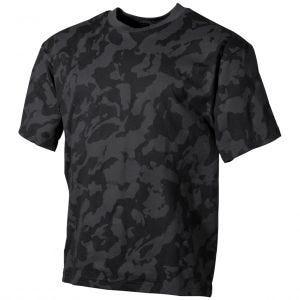 MFH T-shirt - Night Camo