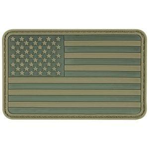 MFH USA 3D Flaglap Velcro - Olivenfarvet
