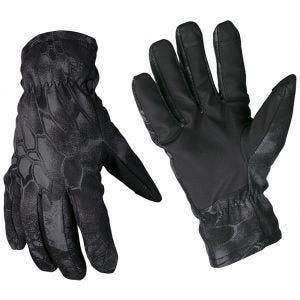 Mil-Tec Thinsulate Soft-shell-handsker - Mandra Night