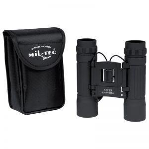 Mil-Tec Foldbar Kikkert 10x25 - Sort