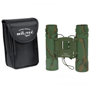 Mil-Tec Foldbar Kikkert 10x25 - Camo