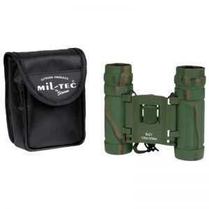Mil-Tec Foldbar Kikkert 8x21 - Camo
