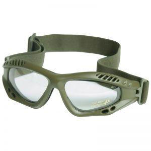 Mil-Tec Commando Goggles Air Pro Clear Olive