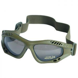 Mil-Tec Commando Goggles Air Pro Smoke Olive