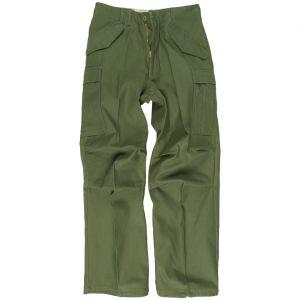 Mil-Tec M65 Bukser - Olivenfarvet
