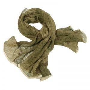 Mil-Tec Nettørklæde - 3-Farvet Ørken