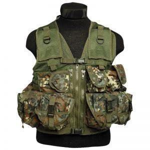Mil-Tec Ultimate Assault Vest - Flecktarn