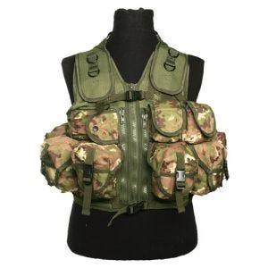 Mil-Tec Ultimate Assault Vest - Vegetato Woodland