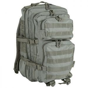 Mil-Tec MOLLE US Stor Assaultpakke - Løv