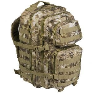 Mil-Tec MOLLE US Stor Assaultpakke - Mandra Tan