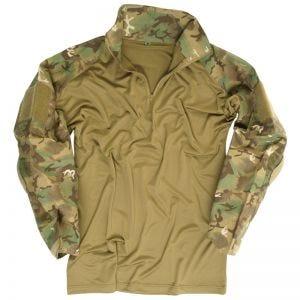 Mil-Tec Warrior Skjorte med Albuelapper - Arid Woodland