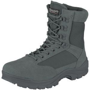 Mil-Tec Støvler med Lynlåse I Siderne Taktisk - Urban Grey