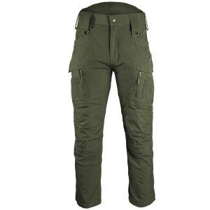 Mil-Tec Assault Soft-shell Bukser - Ranger Green