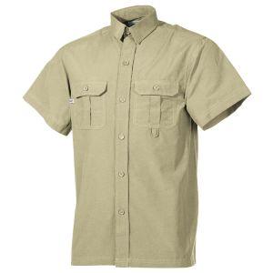 Fox Outdoor Kortærmet Skjorte Udendørs - Khaki