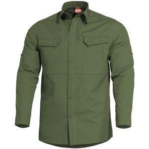 Pentagon Plato Skjorte Taktisk - Camo Green